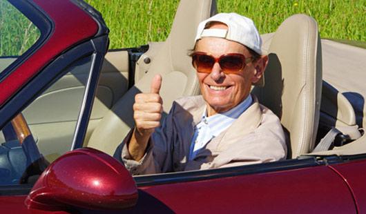 Die Ruheversicherung für Kfz eignet sich gut für Cabrios