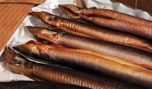 Geräucherter Aal