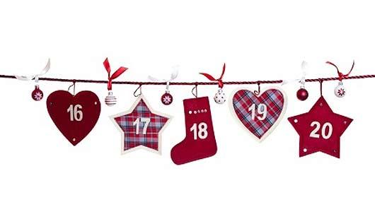 Einen Adventskalender kaufen und 24 Türen bis Weihnachten öffnen