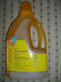 Biowaschmittel Sonett Waschmittel Color im Test