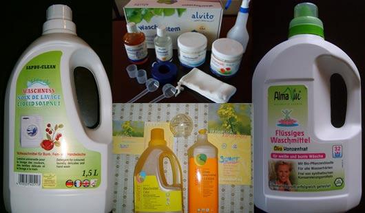 Öko - Biowaschmittel im Test