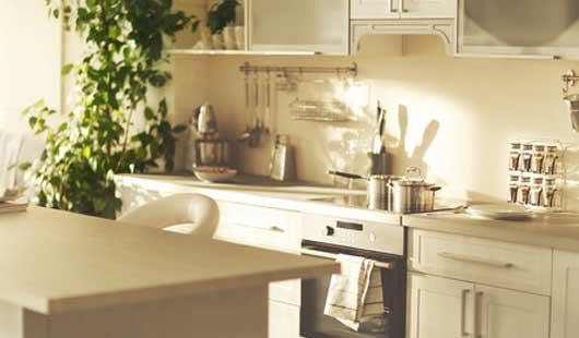 Küche in der ersten eigenen Wohnung
