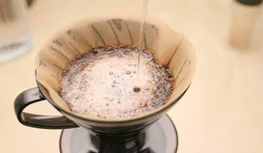 Kaffee - Zubereitung per Filter