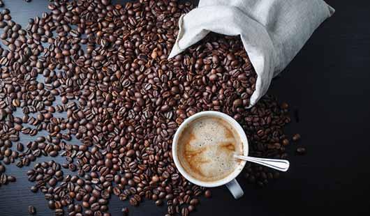 Kaffee - Genuss aus gerösteten Bohnen