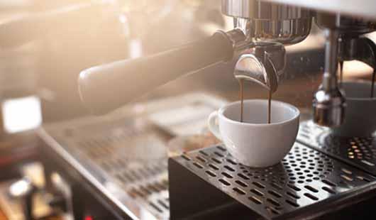 Kaffee - Zubereitung durch Maschine