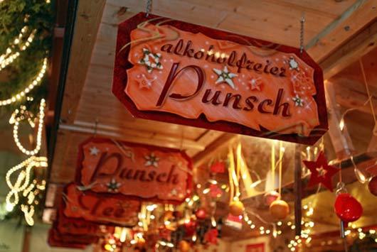 Weihnachtsmärkte mit Punsch