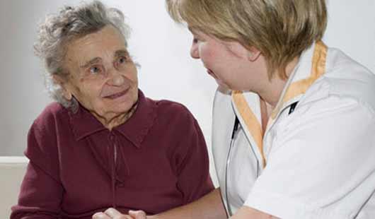 Im Notfall ist Pflege möglich im Wohnstift