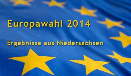 Europawahl 2014: Wahlergebnisse aus Niedersachsen