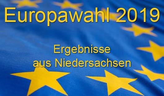 Ergebnisse aus Niedersachsen - Europawahl 2019