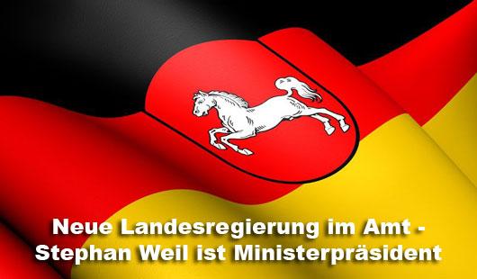 Niedersachsen hat eine neue Landesregierung