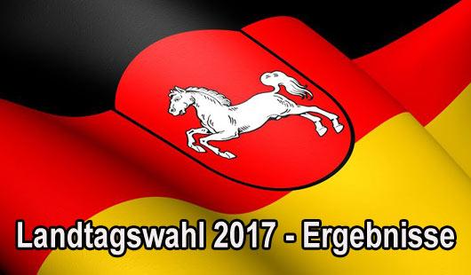 Ergebnisse der Landtagswahl 2017 in Niedersachsen
