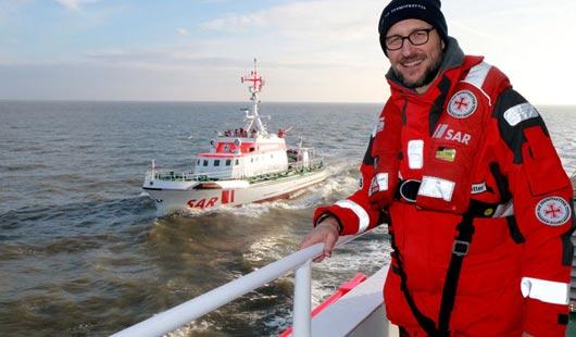 Markus Knüfken, aktueller Bootschafter der Seenotretter
