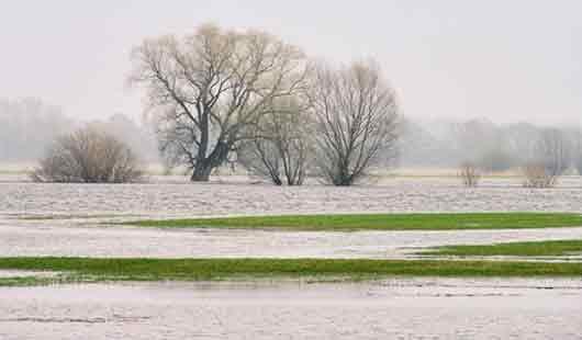 Hochwasser und Überschwemmungen in Niedersachsen