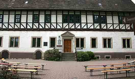 Foto vom Rathaus in Bodenwerder