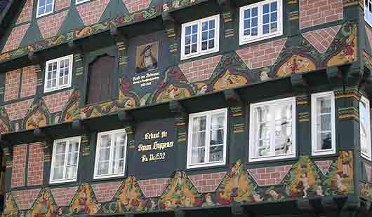 Das historische Stadtbild von Celle ist sehr schön