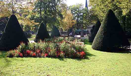 Der Stadtpark von Celle