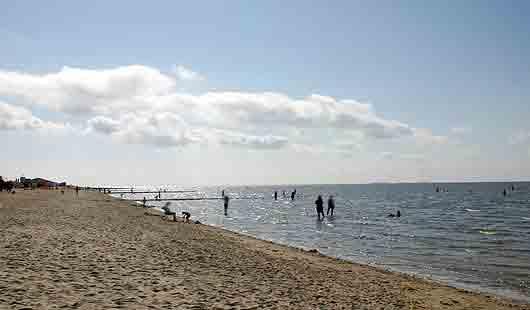 Cuxhaven bietet am Nordseestrand viele Bademöglichkeiten