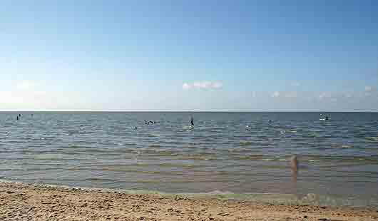 Baden in der Nordsee ist in Cuxhaven möglich