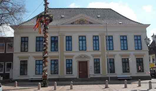 Die Stadt Esens liegt in Ostfriesland nahe der Nordseeküste