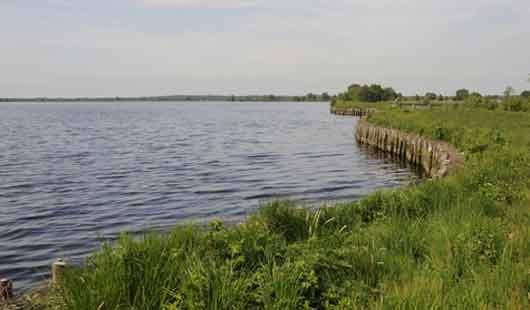 Das Ewige Meer ist ein Hochmoorsee in Ostfriesland