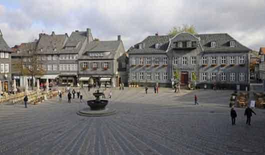 Altstadt und Marktplatz in Goslar sind Teil des Weltkulturerbes