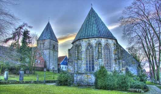 Evangelisch reformierte Kirche in Gildehaus in der Grafschaft Bentheim