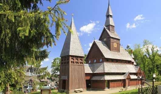 Nordische Gustav-Adolf-Stabkirche in Hahnenklee