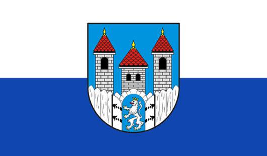 Stadtflagge von Holzminden