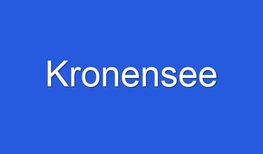 Kronensee