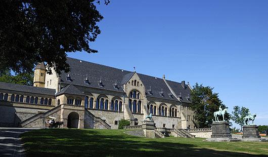 Die Kaiserpfalz ist eine Sehenswürdigkeit im Landkreis Goslar