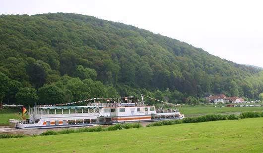Die Weser und das Weserbergland prägen den Landkreis Hameln-Pyrmont