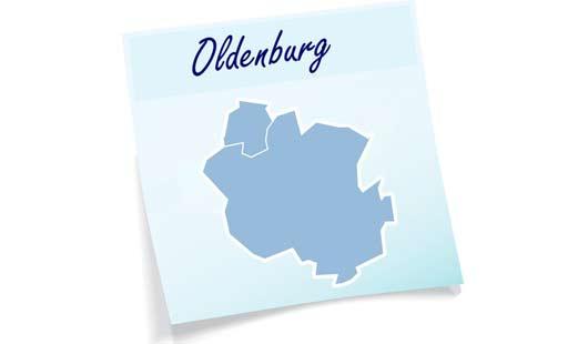 Karte Landkreis Oldenburg