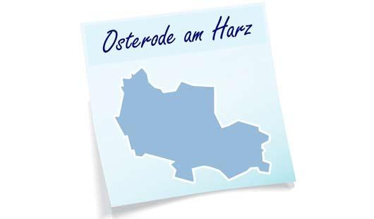 Karte Landkreis Osterode