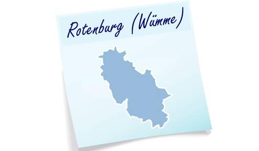 Landkreis Rotenburg - Umrisse