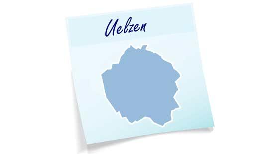 Landkreis Uelzen - Umriss