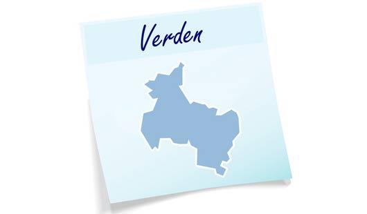 Landkreis Verden - Umrisse
