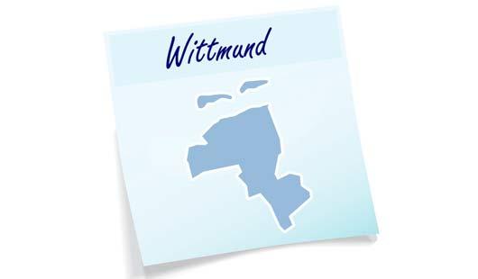 Landkreis Wittmund Umriss