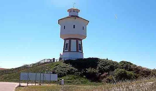 Wasserturm auf Langeoog - Foto von G. Dehne