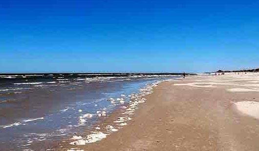 Strand auf Langeoog - Foto von G. Dehne