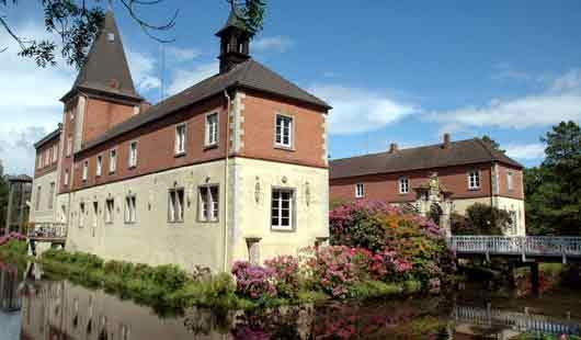 Schloss Dankern im Landkreis Emsland
