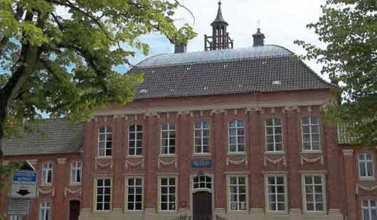 Historisches Gebäude in Norden - Foto von G. Dehne