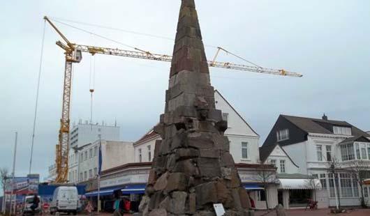 Das Kaiser-Wilhelm-Denkmal auf Norderney