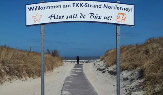 FKK auf Norderney