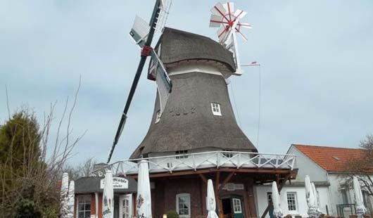 Die Mühle auf Norderney