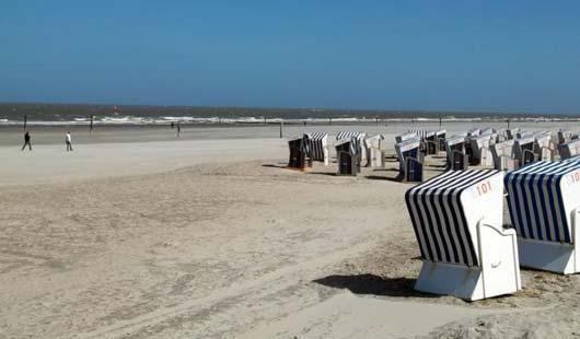 Erholen am Strand von Norderney