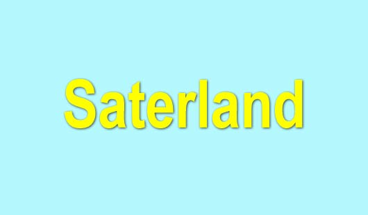 Saterland mit eigener Sprache