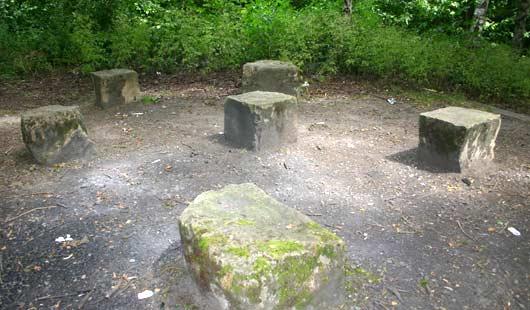 Sitzecke im Stadtpark Garbsen