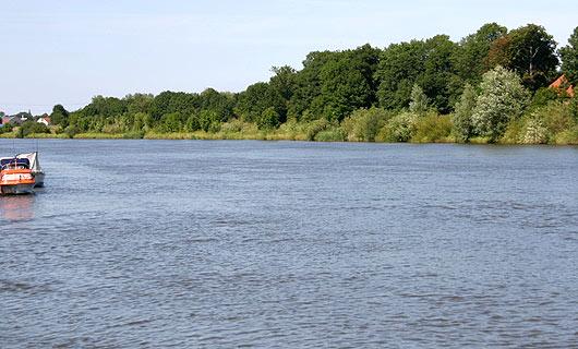 Die Weser prägt die Urlaubsregion