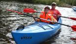 Der Fluss Ems bietet Raum für Kanufahrten