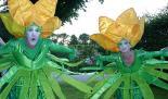 Elfenhafte Winterlinge beim Kleinen Fest im Großen Garten 2012